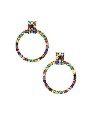 BAUBLEBAR - Gemma Pavé Loop Drop Earrings