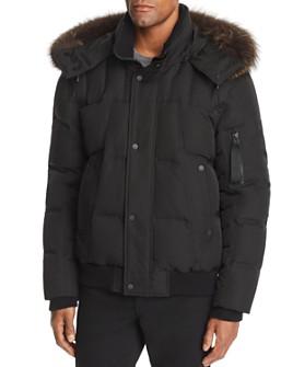 Andrew Marc - Bennett Fox Fur-Trimmed Puffer Jacket