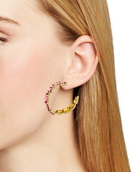 BAUBLEBAR - Isadora Faceted Hoop Earrings