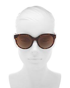 Tory Burch - Women's Polarized Round Sunglasses, 55mm