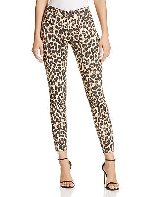 Image result for leopard jeans