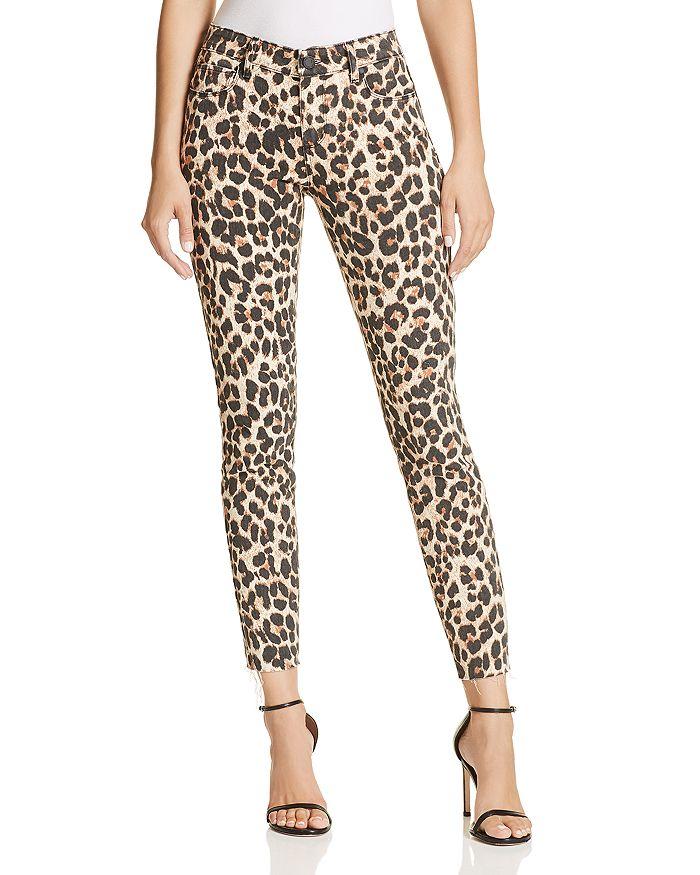 Image result for leopard jeans