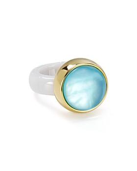 Roberto Demeglio - White Ceramic Stretch Ring
