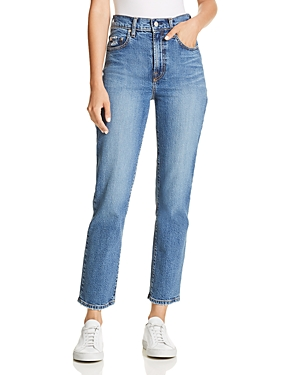 Nobody Charlotte Comfort Ankle Straight Jeans in Motive