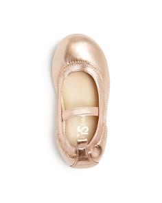 Yosi Samra - Girls' Miss Samara Leather Ballet Flats - Baby, Toddler