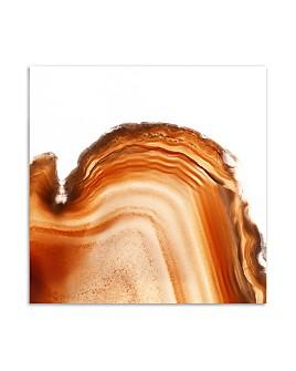 "Art Addiction Inc. - Orange Rock Wall Art, 24"" x 24"""
