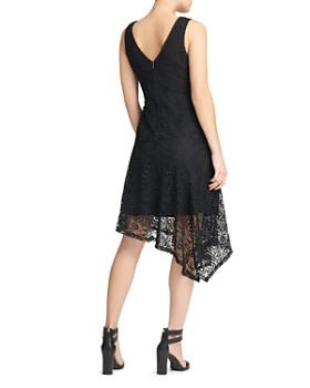 Donna Karan - Asymmetric Lace Dress