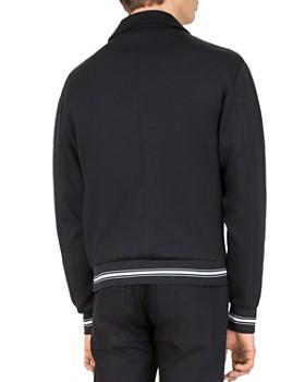 The Kooples - Fleece Moto Jacket