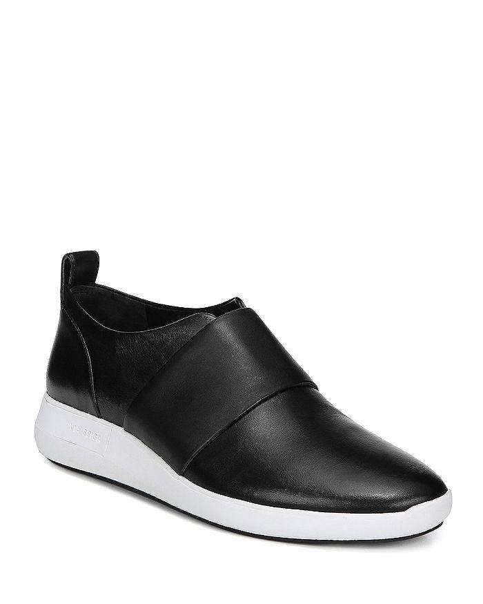 Via Spiga - Women's Marlon Leather Slip-On Sneakers