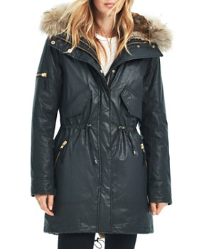 18c4b640db055 SAM. - Tribeca Fur Trim Convertible Parka ...