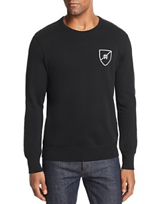 REIGNING CHAMP Shield Logo Crewneck Sweatshirt - Bloomingdale's_0
