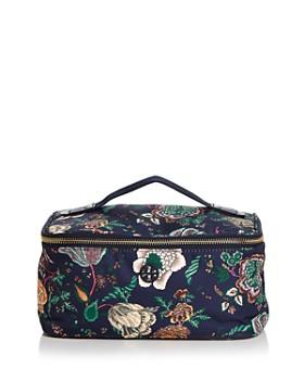 Tory Burch - Tilda Medium Floral-Print Nylon Travel Cosmetics Box Case