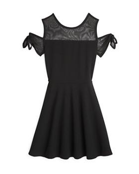 Sally Miller - Girls' Cold-Shoulder Stretch Knit Dress - Big Kid