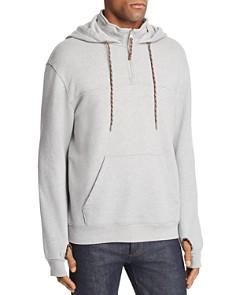 FRAME Half-Zip Hooded Sweatshirt - Bloomingdale's_0