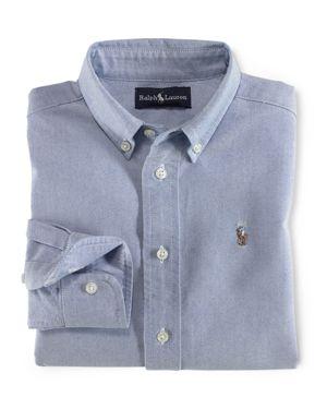 Ralph Lauren Childrenswear Boys' Solid Oxford Shirt - Little Kid thumbnail
