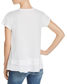 Sundry - Mini Heart Tiered Tee