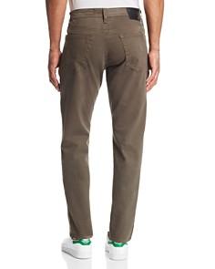 AG - Graduate Straight Slim Jeans in Grey Sand