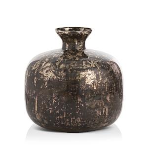 Laura Kirar for Arteriors Marbled Glass Vase