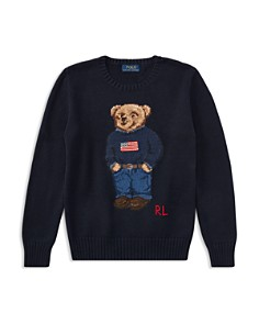 Polo Ralph Lauren Boys' Polo Bear Cotton Sweater - Big Kid - Bloomingdale's_0