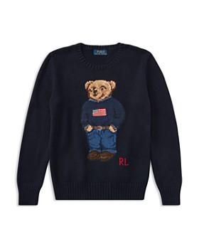 Ralph Lauren - Boys' Polo Bear Cotton Sweater - Big Kid