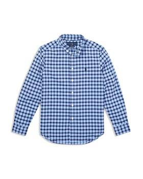 Ralph Lauren - Boys' Performance Poplin Plaid Shirt - Big Kid