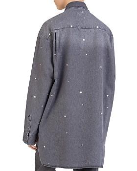 The Kooples - Studded Denim Shirt