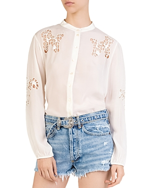 The Kooples Embellished Tunic Shirt