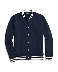 Brooks Brothers Boys' Fleece Knit Baseball Jacket - Little Kid, Big Kid - Bloomingdale's_0