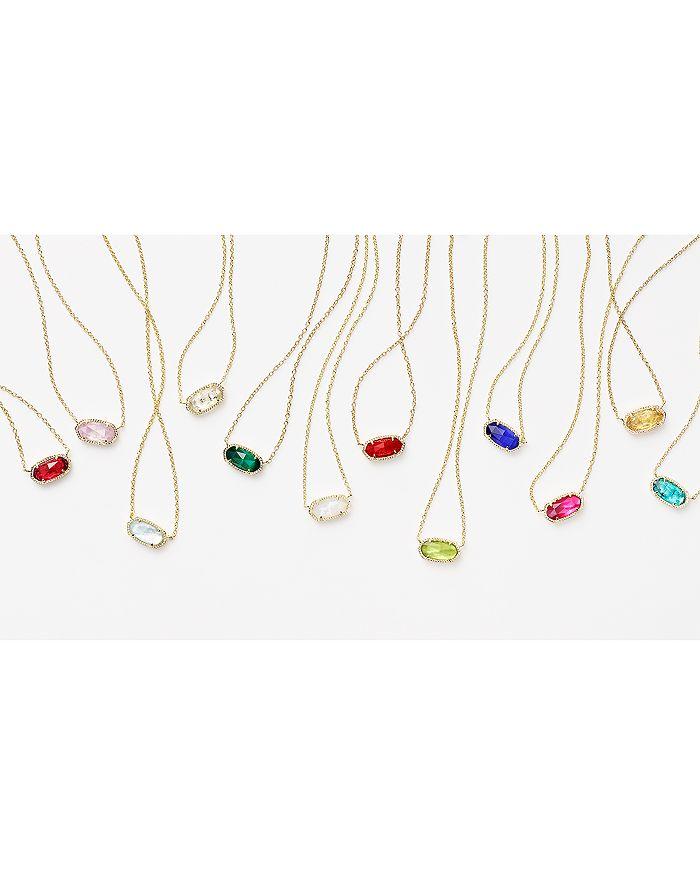 Kendra Scott Elisa Birthstone Pendant Necklace In July