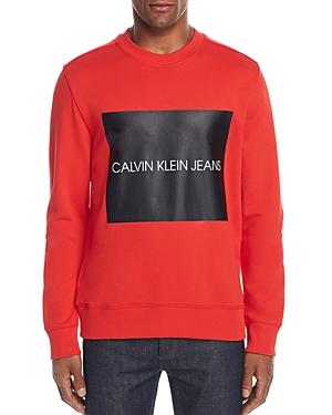 Calvin Klein Box Logo Graphic Sweatshirt