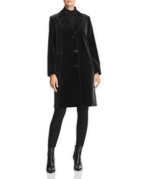 Jane Post - Velvet Coat