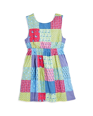 Vineyard Vines Girls Patchwork TieBack Dress  Little kid
