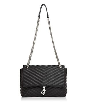Rebecca Minkoff Edie Medium Convertible Leather Shoulder Bag