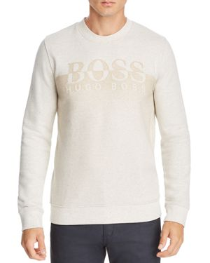 BOSS WITHMORE GRADIENT LOGO SWEATSHIRT