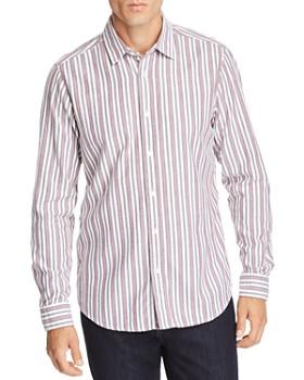 BOSS - Reggie Striped Flannel Regular Fit Shirt