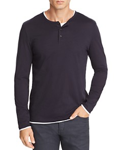BOSS Textor Long-Sleeve Layered Henley - Bloomingdale's_0