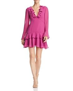Keepsake - Run Free Ruffled Mini Dress