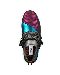 STEVE MADDEN - Girls' JLancer Lace Up Sneakers - Little Kid, Big Kid