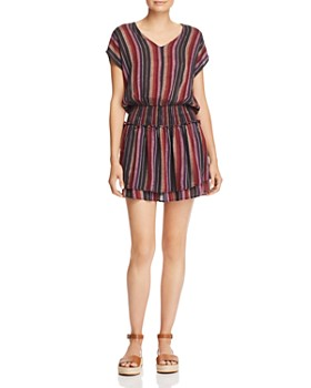 Rails - Lucca Striped Drop-Waist Tunic Dress