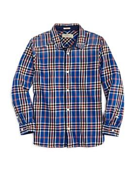 Scotch Shrunk - Boys' Plaid Button-Down Shirt - Little Kid, Big Kid