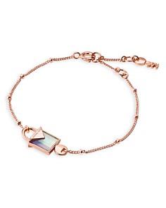 Michael Kors - Kors Color Semi-Precious 14K Rose Gold-Plated Sterling Silver Bracelet