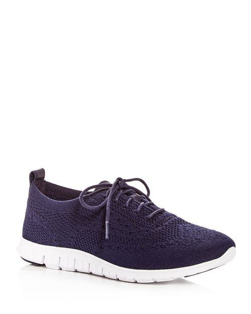 Cole Haan - Women's ZeroGrand Stitchlite Knit Lace Up Sneakers