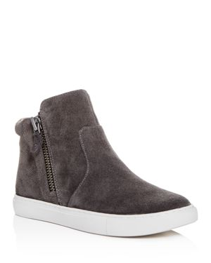 Gentle Souls by Kenneth Cole Women's Carter Suede High Top Sneakers