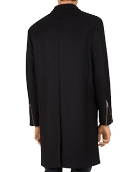 The Kooples - Traditional Caban Stretch-Wool & Cashmere Coat