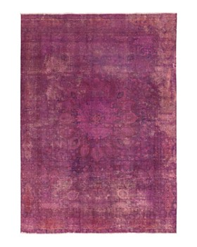 """Solo Rugs - Vintage 20 Hand-Knotted Area Rug, 7' 10"""" x 10' 10"""""""