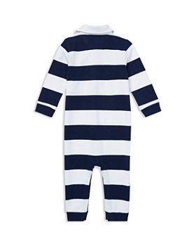 Ralph Lauren - Boys' Rugby Stripe Cotton Coverall - Baby