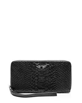 Zadig & Voltaire - Compagnon Savage Medium Croc-Embossed Leather Wallet