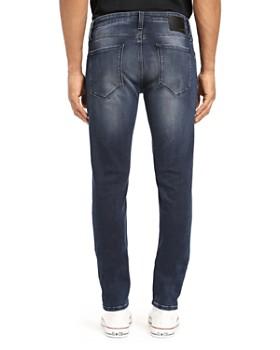 Mavi - James Skinny Fit Jeans in Ink Brushed Authentic Vintage