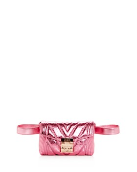 MCM - Patricia Small Quilted Leather Convertible Belt Bag