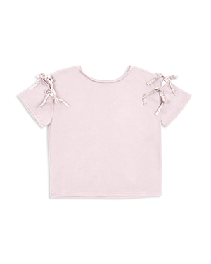 Habitual Girls' Kari Cut-Out Tie Top - Little Kid